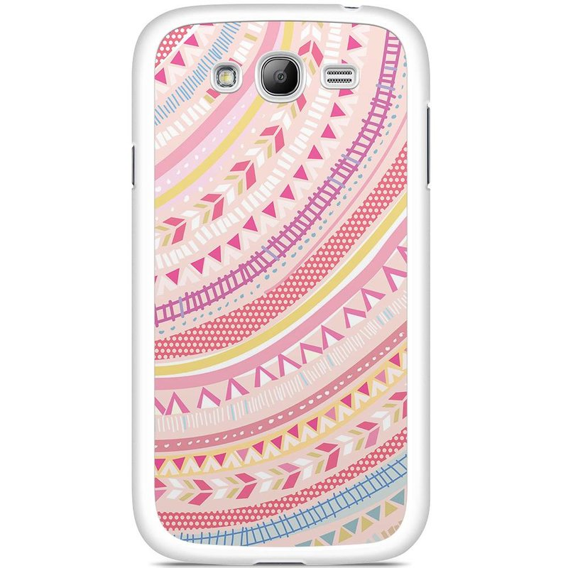 Samsung Galaxy Grand (Neo) hoesje - Paisley Pink