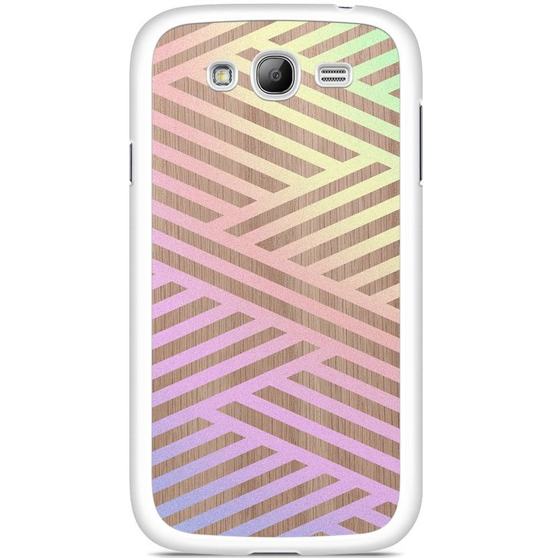Samsung Galaxy Grand (Neo) hoesje - Holographic wood