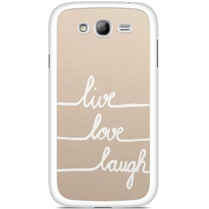 Samsung Galaxy Grand (Neo) hoesje - Live, love, laugh