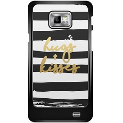 Samsung Galaxy S2 hoesje - Hugs & kisses