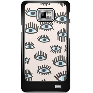 Samsung Galaxy S2 hoesje - Eyes on you