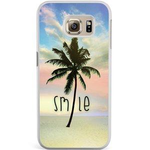 Samsung Galaxy S6 Edge hoesje - Palm smile
