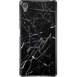 Sony Xperia Z5 hoesje - Marmer zwart
