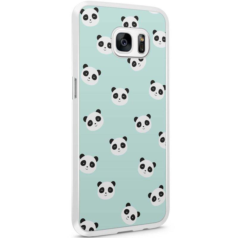 Samsung Galaxy S7 Edge hoesje - Panda's