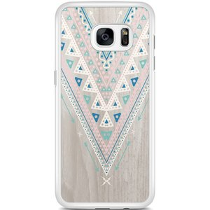 Samsung Galaxy S7 Edge hoesje - Arrow wood