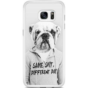 Samsung Galaxy S7 Edge hoesje - Bulldog