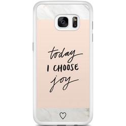 Samsung Galaxy S7 Edge hoesje - Choose joy