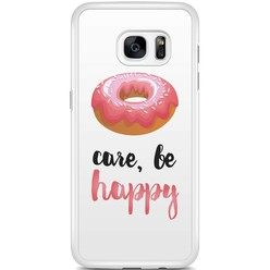 Samsung Galaxy S7 Edge hoesje - Donut worry