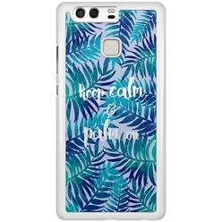 Huawei P9 hoesje - Keep calm and palm on