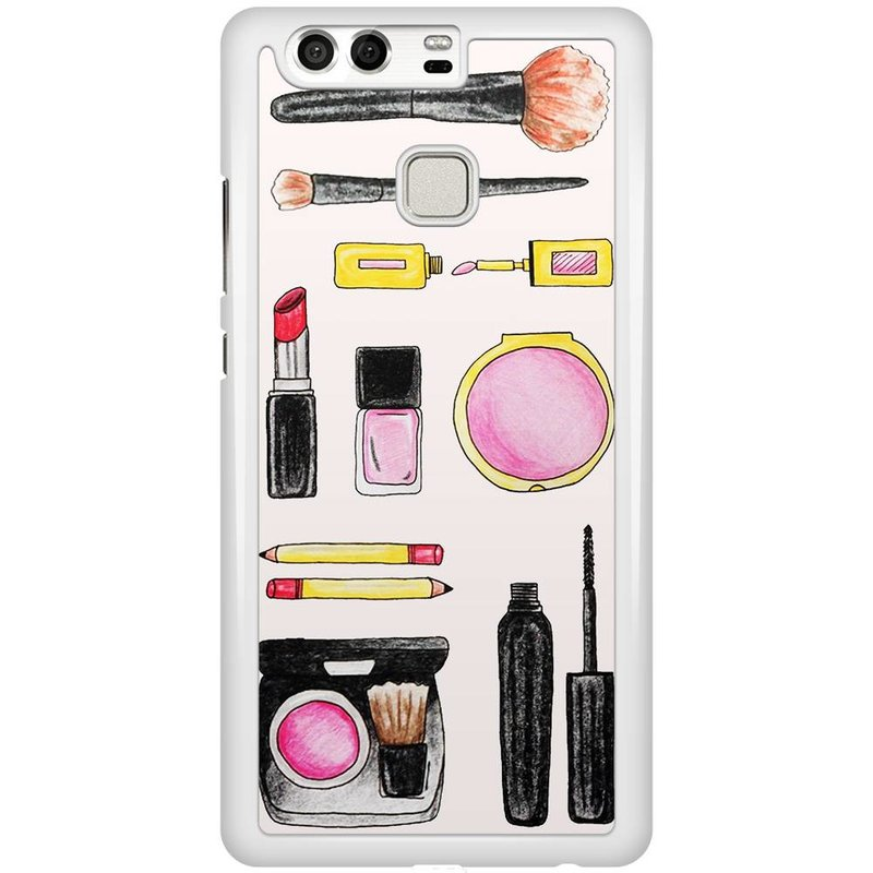 Huawei P9 hoesje - Wake up and make up