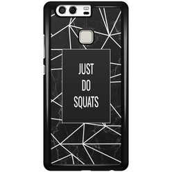Huawei P9 hoesje - Just do squats