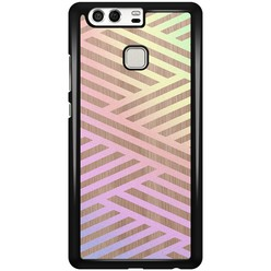 Huawei P9 hoesje - Holographic wood