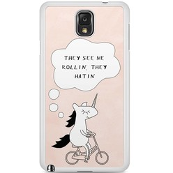 Samsung Galaxy Note 3 hoesje - They see me rollin'