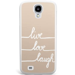 Samsung Galaxy S4 hoesje - Live, love, laugh