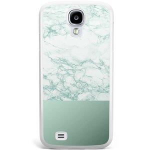 Samsung Galaxy S4 hoesje - Minty marble