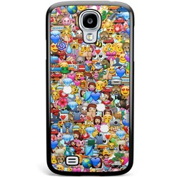 Samsung Galaxy S4 hoesje - Emoji collectie