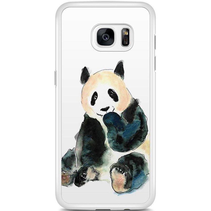 Samsung Galaxy S7 Edge hoesje - Panda
