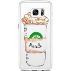 Samsung Galaxy S7 Edge hoesje - Frappuccino