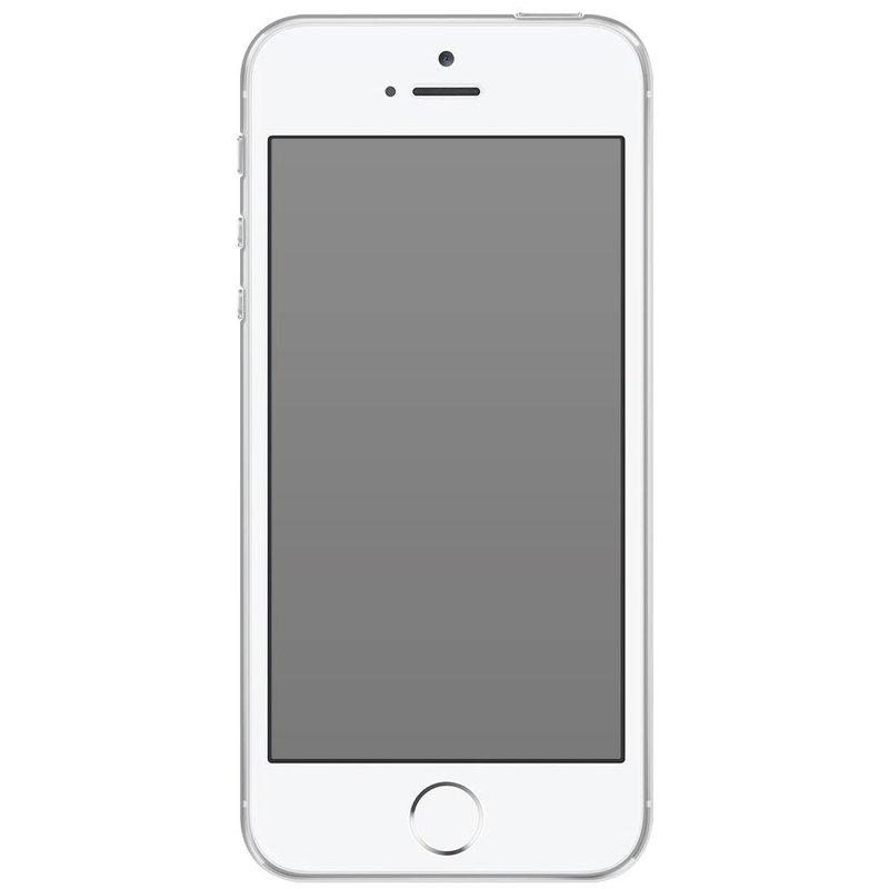 iPhone 5/5s/SE transparant hoesje - Rendier