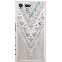 Sony Xperia X Compact hoesje - Arrow wood
