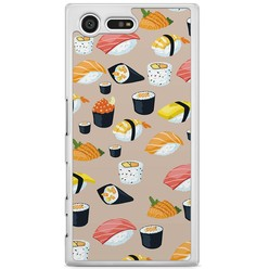 Sony Xperia X Compact hoesje - Sushi overload
