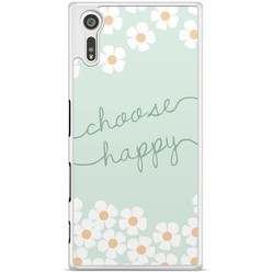 Sony Xperia XZ hoesje - Choose happy