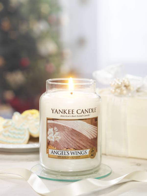 Yanke Candle Angels Wings Large Jar