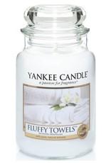 Yanke Candle Fluffy Towels Large Jar