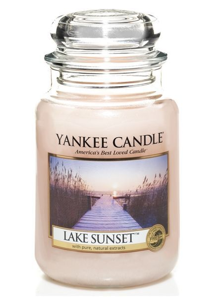 Yanke Candle Lake Sunset Large Jar
