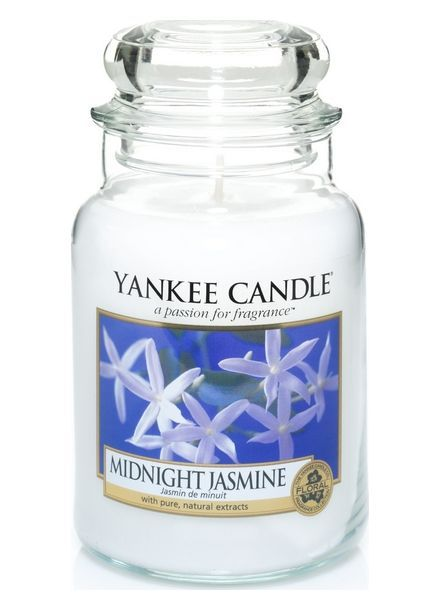 Yanke Candle Midnight Jasmine Large Jar