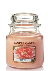 Yankee Candle Peony Medium Jar