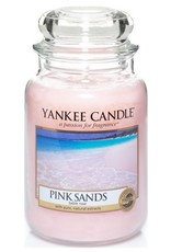 Yanke Candle Pink Sands Large Jar