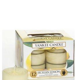 Yankee Candle Sicilian Lemon Theelichten