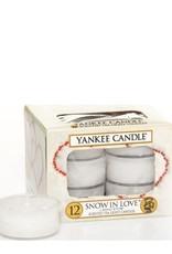 Yankee Candle Snow In Love Theelichten