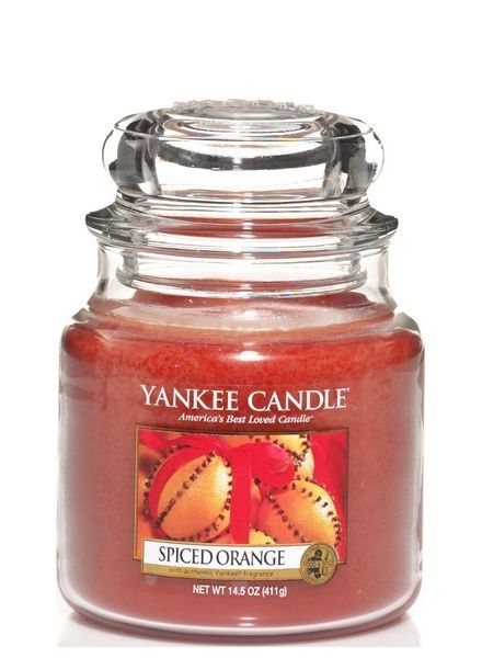 Yankee Candle Spiced Orange Medium Jar