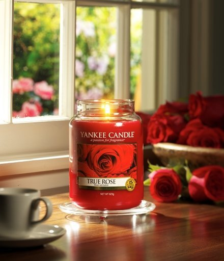 Yanke Candle True Rose Large Jar