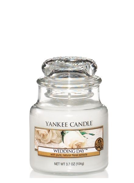 Yankee Candle Wedding Day Small Jar