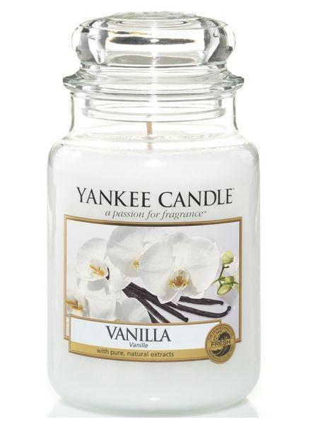 Yanke Candle Vanilla Large Jar