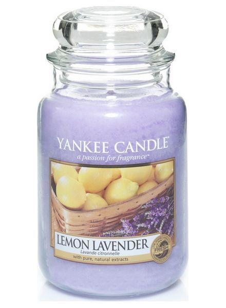 Yanke Candle Lemon Lavender Large Jar