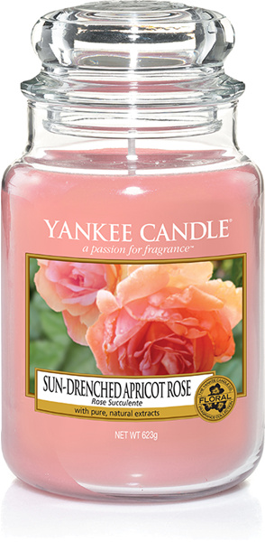 Yankee Candel Sun Drenched Apricot Rose Large Jar