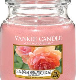 Yankee Candel Sun Drenched Apricot Rose Medium Jar