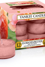 Yankee Candle Sun Drenched Apricot Rose Theelichten
