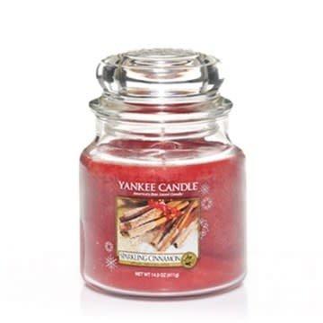 Yankee Candle Sparkling Cinnamon Medium Jar