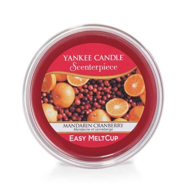 Yankee Candle  Mandarin Cranberry Scenterpiece Melt Cup