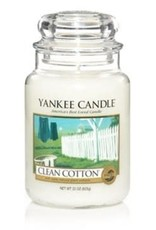 Yanke Candle Clean Cotton Large Jar