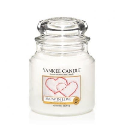 Yankee Candle Snow In Love Small Jar