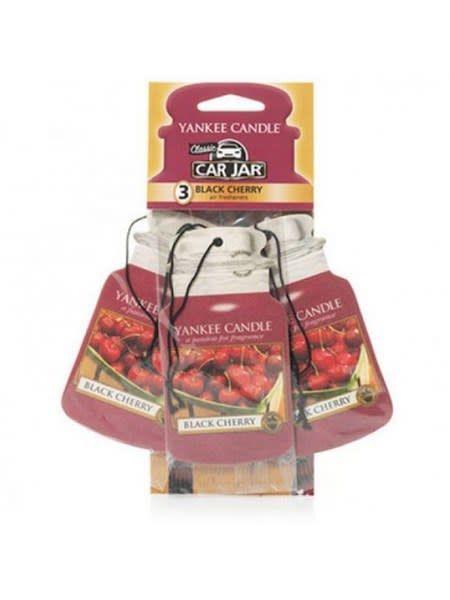 Car Jar 3pack Black Cherry