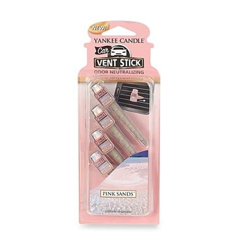 Yankee Candle Vent Sticks Pink Sands