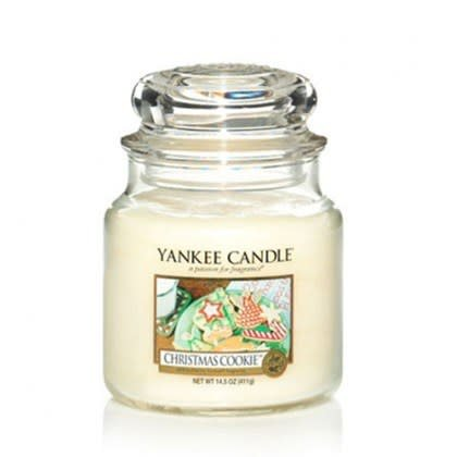 Yankee Candle Christmas Cookie Medium Jar