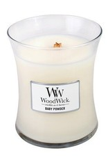 WoodWick Baby Powder Medium Candle